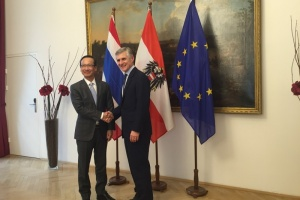 Permanent Secretary of Ministry of Foreign Affairs visited Austria, Slovenia and Slovakia