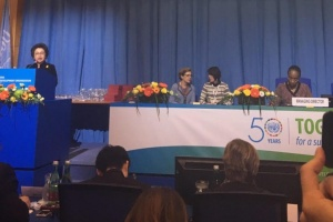 Minister of Industry of Thailand attends the 50th Anniversary of UNIDO