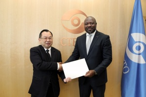 Ambassador Songsak Saicheua presented his credentials to CTBTO