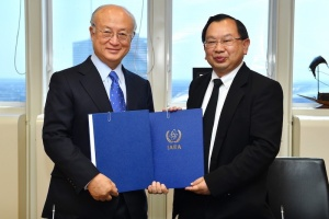 Thailand and the IAEA signed the Agreement concerning the Hosting of IAEA Activities in the Kingdom of Thailand